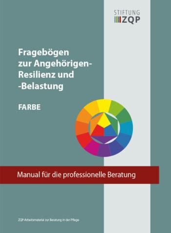 Titelblatt zum Manual Fragebogen zur Angehörigen-Resilienz und -Belastung (FARBE)