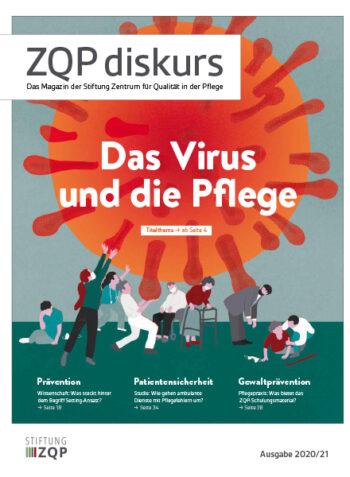 Titelblatt des Magazins ZQP diskurs Ausgabe 2020/21