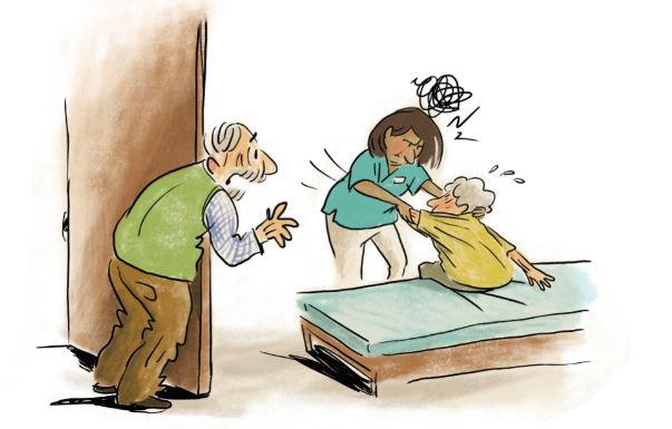 Gewalt gegen pflegebedürftige Menschen verhindern