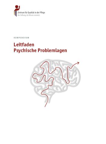 Titelblatt Kompendium Leitfaden Psychische Problemlagen