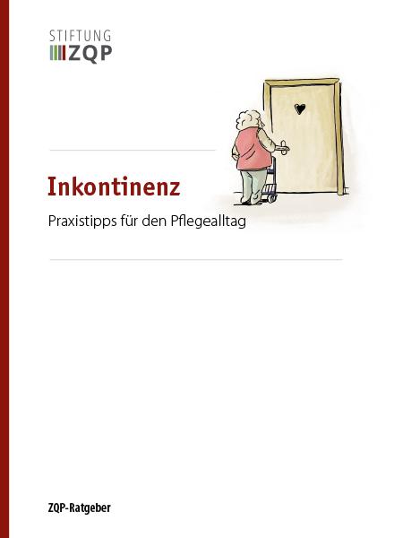 Titelblatt Ratgeber Inkontinenz