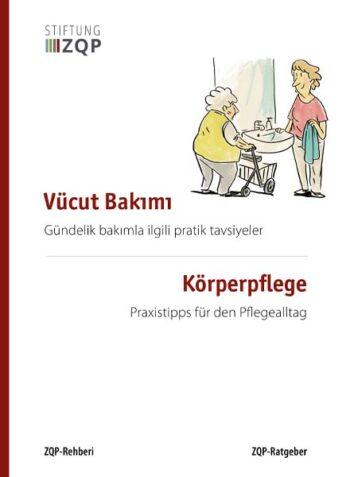 Titelblatt des Ratgebers Körperpflege in türkischer und deutscher Sprache