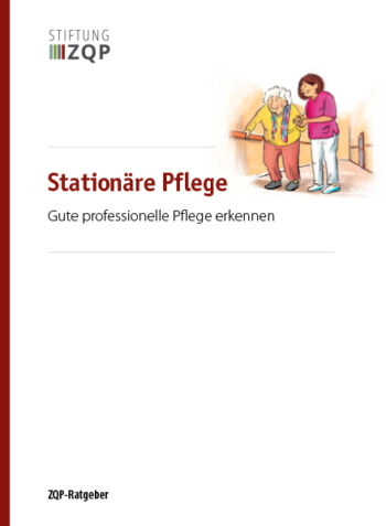 Titelblatt Ratgeber Stationaere Pflege