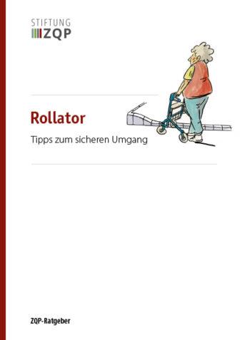 Titelblatt Ratgeber Rollator