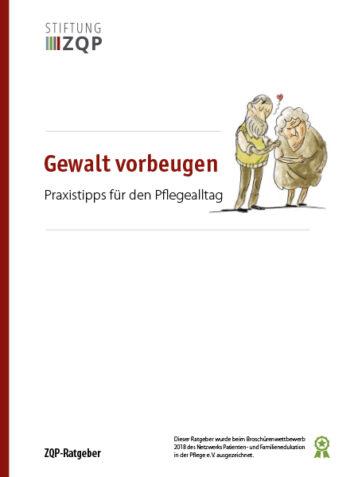Titelblatt Ratgeber Gewalt vorbeugen