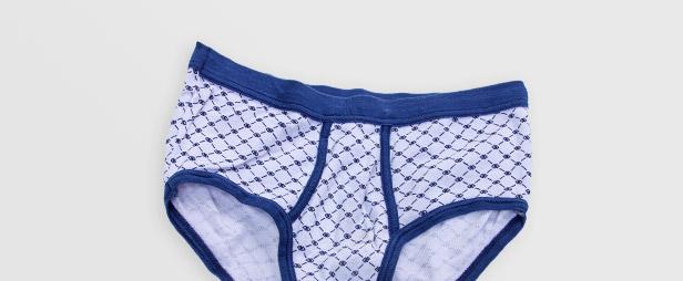 Blaue Unterhose