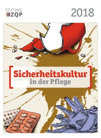 Titelblatt des ZQP Stiftungsportraits 2018