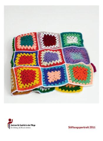 Titelblatt des ZQP Stiftungsportraits 2011