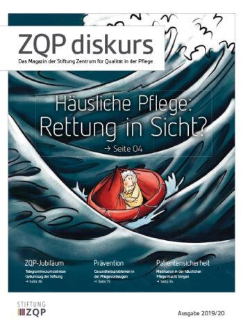 Titelblatt des Magazins ZQP diskurs Ausgabe 2019/20